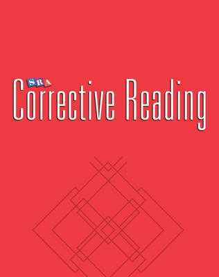 Corrective Reading Comprehension Level B1, Blackline Masters