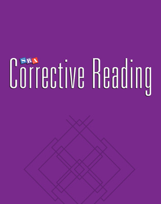 Corrective Reading Comprehension Level B2, Blackline Masters