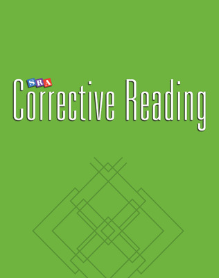 Corrective Reading Comprehension Level C, Teacher Presentation Book 1