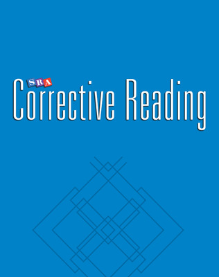 Corrective Reading Comprehension Level A, Teacher Materials