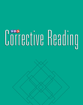 Corrective Reading Comprehension Level C, Teacher Materials