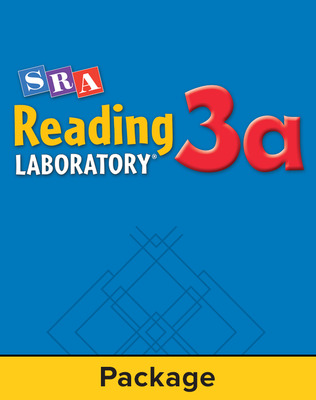 Reading Lab 3a, Reading Lab 3a Includes Student Record Books (Pkg. of 5) Grades 7-10 Economy Edition