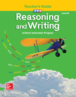 Reasoning and Writing Level B, Additional Teacher's Guide