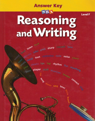 Reasoning and Writing Level F, Additional Answer Key