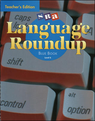 Language Roundup, Teacher's Edition, Level 6