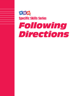 Specific Skills Series, Following Directions, Book G