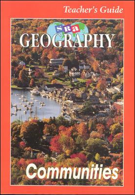 SRA Geography Communities Teacher Edition, Level 3