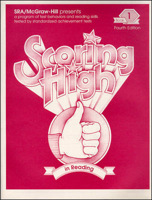 Scoring High in Reading 4th Edition Grade 1 Student Edition