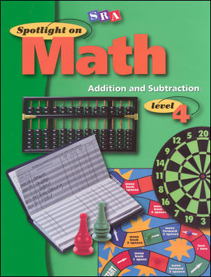 Spotlight on Math, Addition and Subtraction Workbook, Grade 4 (Pkg. of 10)