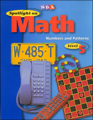 Spotlight on Math, Numbers and Patterns Workbook, Grade 5 (Pkg. of 10)