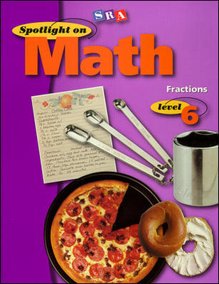 Spotlight on Math, Fractions Workbook, Grade 6 (Pkg. of 10)