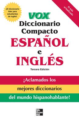 Vox diccionario compacto español e ingles, 3E  (PB)