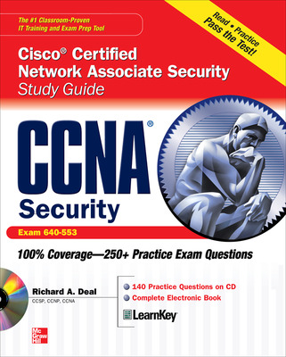 CCNA Cisco Certified Network Associate Security Study Guide with CDROM (Exam 640-553)