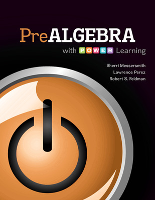 Prealgebra with P.O.W.E.R. Learning