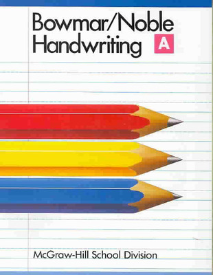 Handwriting Book A Pupil Edition 1988