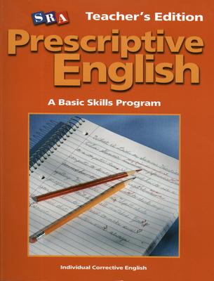 Prescriptive English, Teacher Edition Book B