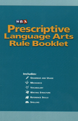Prescriptive English, Language Arts Rule Booklet