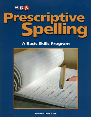 Prescriptive Spelling, Student Edition Book C