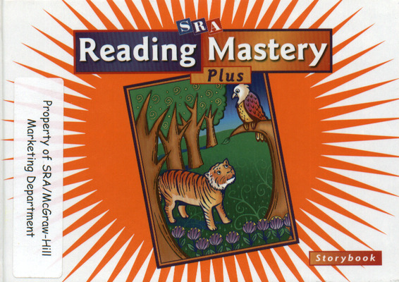 Reading Mastery Plus Grade 1, Storybook