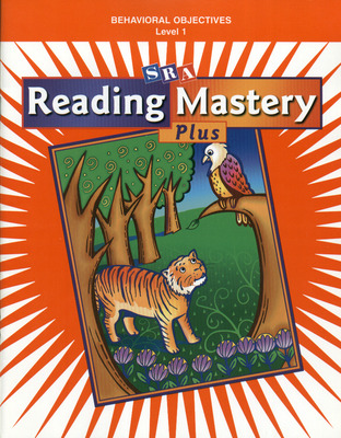 Reading Mastery 1 2002 Plus Edition, Behavioral Objectives