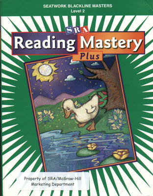Reading Mastery Plus Grade 2, Seatwork