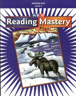 Reading Mastery Plus Grade 4, Additional Answer Key