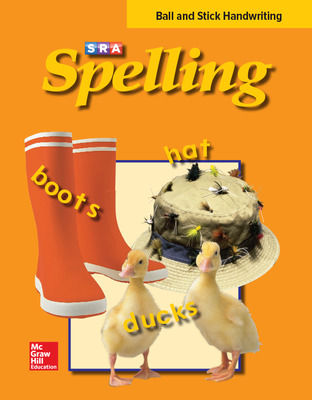 SRA Spelling, Student Edition - Ball and Stick (softcover), Grade 2