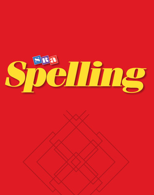 SRA Spelling, Student Edition - Continuous Stroke (hardcover), Grade 2