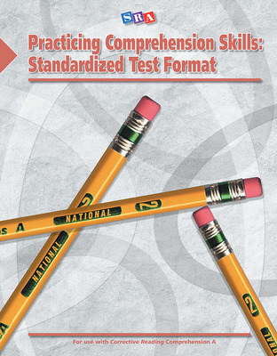 Corrective Reading: Practicing Comprehension Skills Level A, Standardized Test Format Blackline Masters