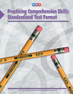 Corrective Reading: Practicing Comprehension Skills Level B1, Standardized Test Format Blackline Masters