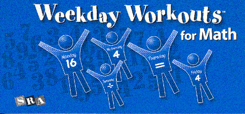 Weekday Workouts for Math, Student Booklet Grade 4