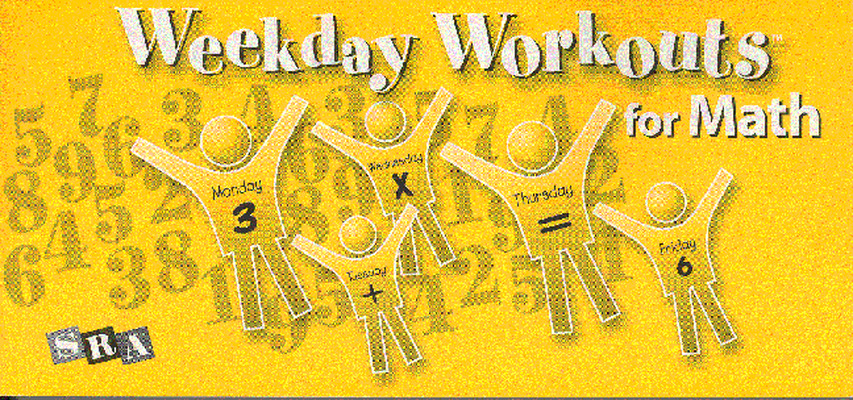 Weekday Workouts for Math, Student Booklet Grade 5