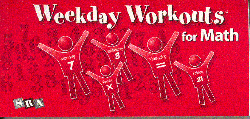 Weekday Workouts for Math, Student Booklet 10-Pack Grade 3