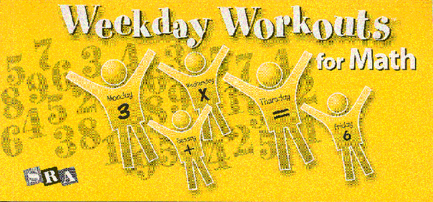 Weekday Workouts for Math, Student Booklet 10-Pack Grade 5