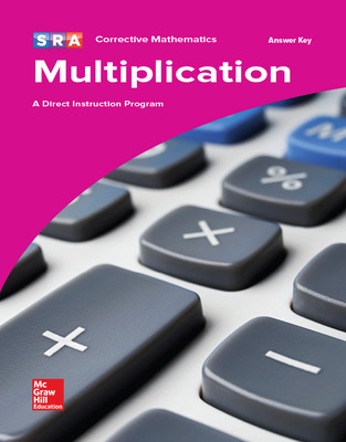 Corrective Mathematics Multiplication, Additional Answer Key