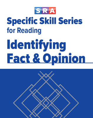 Specific Skill Series for Reading, Identifying Fact & Opinion, Book E