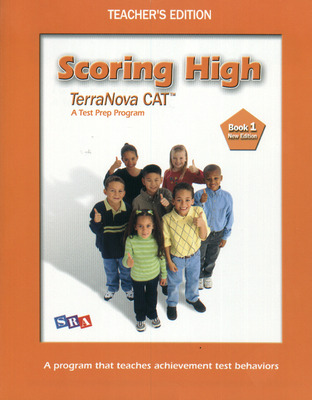 Scoring High Terra Nova CAT, Teacher Edition, Grade 1