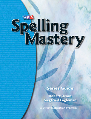 Spelling Mastery, Series Guide