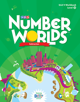 Number Worlds Level D, Student Workbook Subtraction (5 pack)
