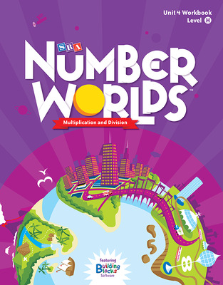Number Worlds Level H, Student Workbook Multiplication & Division (5 pack)