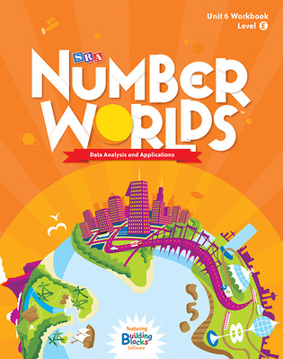 Number Worlds Level E, Student Workbook Data Analysis (5 pack)