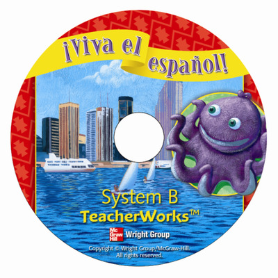 ¡Viva el español!, System B TeacherWorks CD-ROM