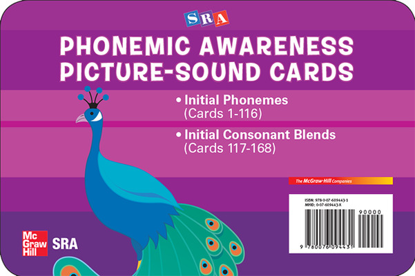 Phonemic Awareness PreK-K, Picture/Sound Cards