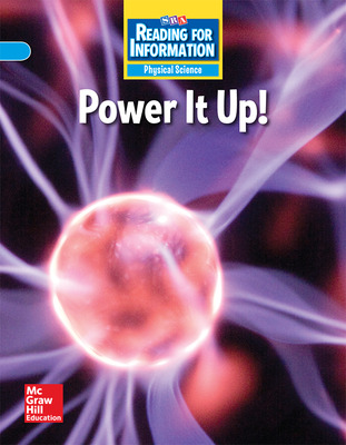 Reading for Information, On Level Student Reader, Physical - Power It Up!, Grade 4