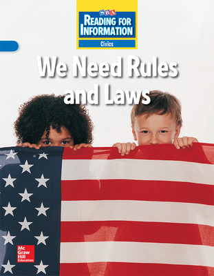 Reading for Information, Approaching Student Reader, Civics - We Need Rules and Laws, Grade 2