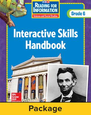 Reading for Information, Interactive Skills Handbook (6-pk), Grade 6