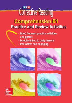 Corrective Reading Comprehension Level B1, Student Practice CD Package
