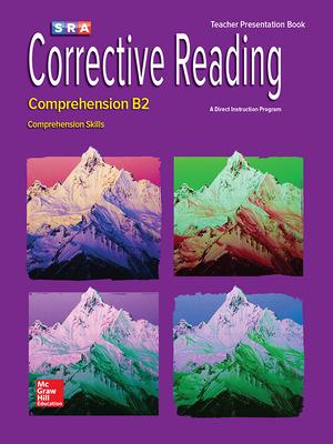 Corrective Reading Comprehension Level B2, Presentation Book