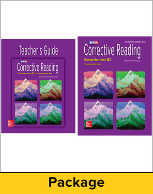 Corrective Reading Comprehension Level B2, Teacher Materials Package