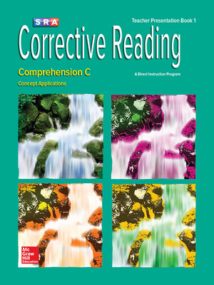 Corrective Reading Comprehension Level C, Presentation Book 1